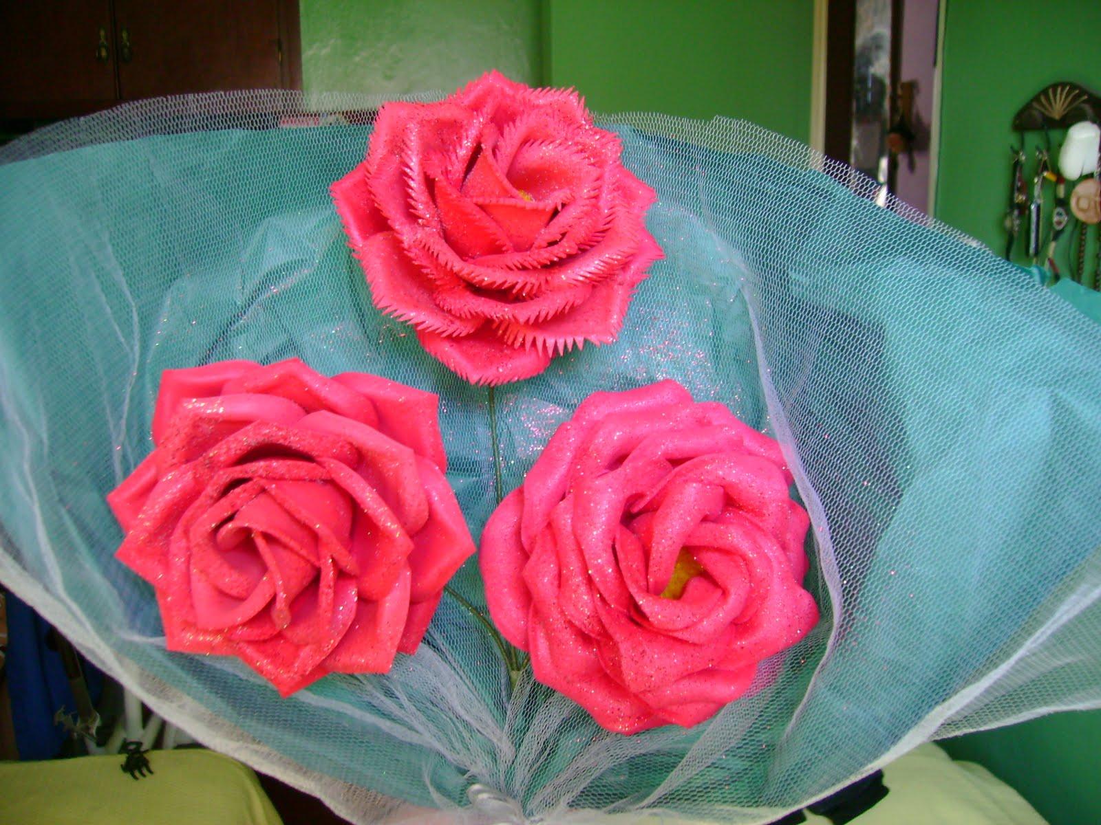 Imagenes De Centros De Mesa Con Flores De Goma Eva - Centros de mesa y tarjetas infantiles Actiweb