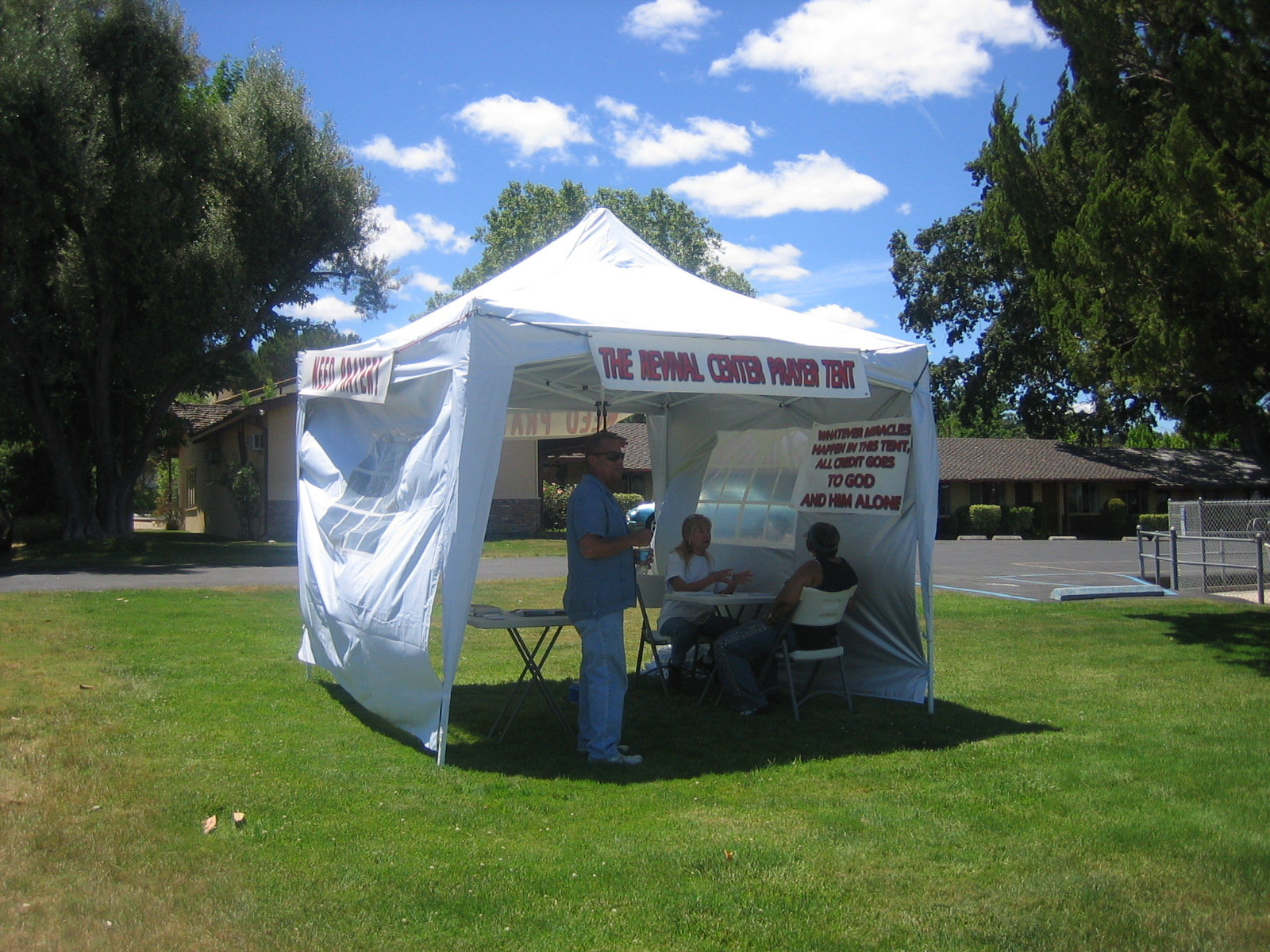 & The Revival Center Blog: The Revival Center Prayer Tent
