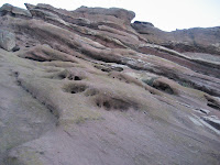 Rock formations at Red Rocks Amphitheater