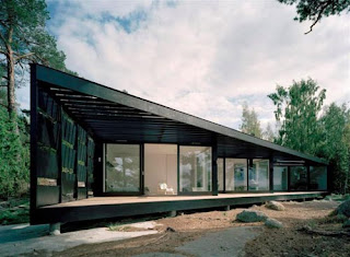 Archipelago House by Tham And Videgård Hansson Architects in Sweden