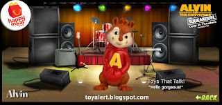McDonalds Alvin and the Chipmunks Toys 2010 - Alvin