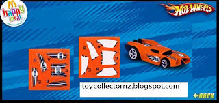 McDonalds Hot Wheels Happy Meal Toys 2010 - New Zealand and Australia release - Prototype H-24
