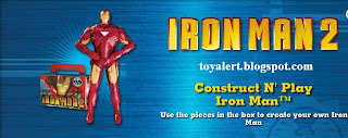 Burger King Iron Man 2 Toy Promotion - Construct and Play Iron Man Toy