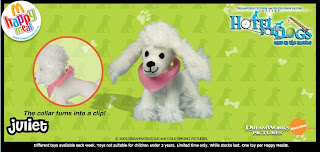 Juliet from the McDonalds Hotel for Dogs Promotion 2009