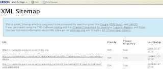XML Sitemap For Joomla1.5