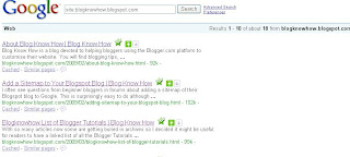 Blog Know How Search Engine Results in Google with Title Tags Tweaked