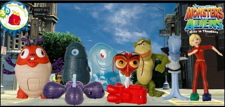 monsters vs aliens toys at mcdonalds toy alert