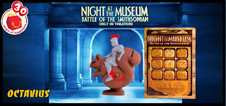 Night at the Museum 2 Happy Meal Toys from McDonalds 2009 - Octavius