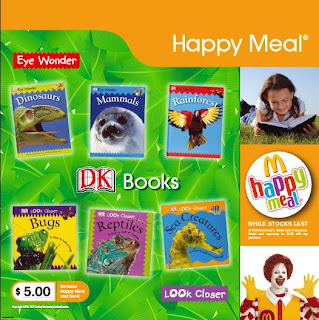 McDonalds DK Eye Wonder Books Promotion 2009