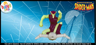 McDonalds Spectacular Spiderman Promotional Toy - The Green Goblin