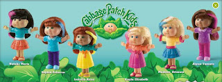 Burger King Cabbage Patch Kids Toy Promotion 2009