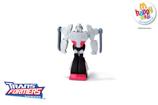 McDonalds Transformers Animated Toys - megatron