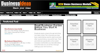 Business Ads Ready - Free Blogger Template