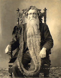 Longest beard ever measured belonged to Hans Langseth from Norway who at his death in 1927 had cultivated a beard 5.33 metres (17 feet 6 inches) long.