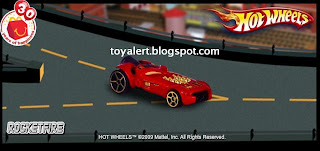 McDonalds Hot Wheels Toys 2009 Promotion - Rocketfire Racing Car