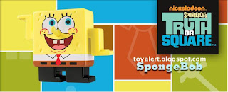 Burger King Spongebob Truth or Square Toys 2009 - Spongebob