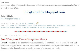 How to add a post divider between posts in Blogger