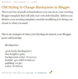 Minima Blockquotes No Extra CSS Styling