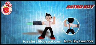 McDonalds Astro Boy Happy Meal Toy Promotion 2009 - Astro Boy Launcher