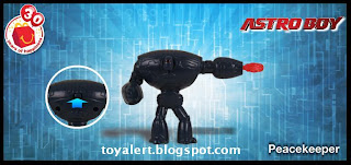McDonalds Astro Boy Happy Meal Toy Promotion 2009 - Peacekeeper