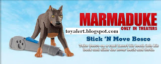Burger King Marmaduke Kids Meal Toys Promotion 2010 - Stick 'n Move Bosco
