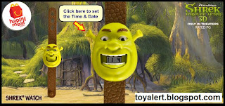 McDonalds Shrek Forever After Watches - Shrek Watch