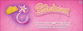 Burger King Pinkalicious kids meal toys 2010 - Pinkalicious Hair Play
