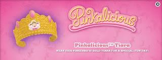 Burger King Pinkalicious kids meal toys 2010 - Pinkalicious Tiara