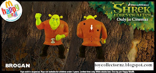 McDonalds Shrek Forever After Toys - Australia and New Zealand Happy Meal Toy Release - Brogan
