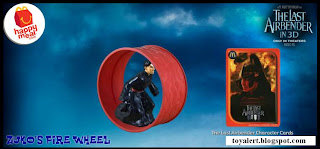 McDonalds Last Airbender Happy Meal Toys - Zuko's Fire Wheel