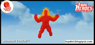 McDonalds Marvel Heroes Happy Meal Toys 2010 - Human Torch