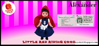 McDonalds Madame Alexander 2010 - US Release - Little Red Riding Hood