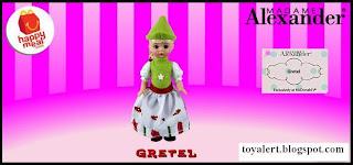 McDonalds Madame Alexander 2010 - US Release - Gretel
