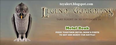 Burger King Legends of Guardians toys - Owls of Ga'hoole - Metal Beak