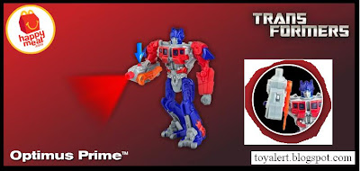McDonalds Transformers Happy Meal Toys 2010 - Optimus Prime