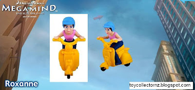 McDonalds Megamind Happy Meal toys - NZ and Australia release - Roxanne