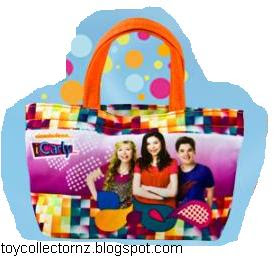 McDonalds iCarly Happy Meal Toy 2010 - Tote Bag