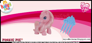 McDonalds My Little Pony 2010 - Australia and New Zealand Release - Pinkie Pie
