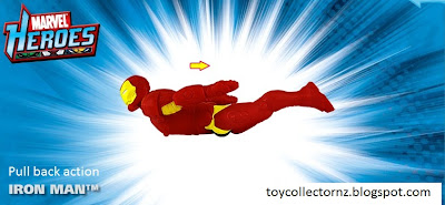 McDonalds Marvel Heroes toy promotion in Australia and New Zealand 2010 - Iron Man