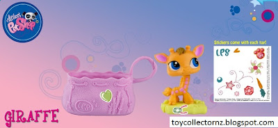McDonalds Littlest Pet Shop happy meal toy promotion in Australia and New Zealand 2010 - Giraffe