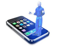 In 2011 They Are Coming Out With Iphone Holograms Only Glitch Is While Your Using Conversations Looses Its Privacy
