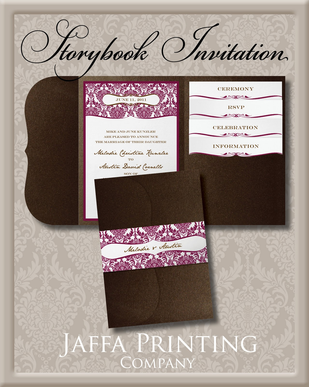 wedding invitation blog pocket invitation