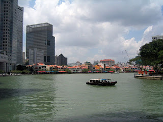 History of Singapore: Singapore River