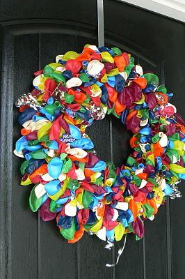Creative Ideas For You Happy Birthday Door Wreath