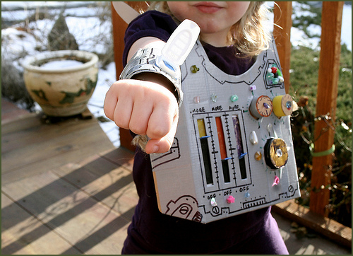 Recycled Robot Costume