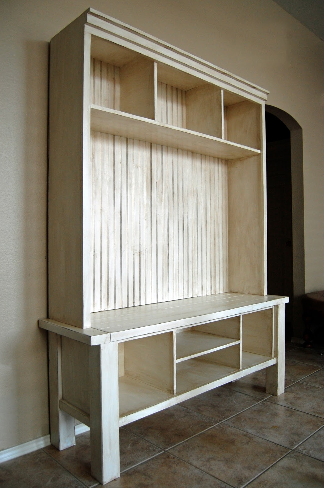 Creative ideas for you media console plans for Diy hutch plans