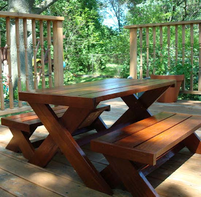 creative ideas for you kids picnic table plans. Black Bedroom Furniture Sets. Home Design Ideas