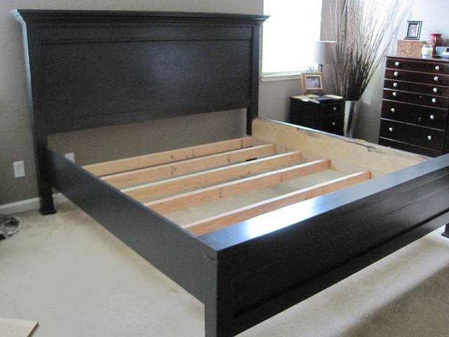 Ana White California King Bed Frame
