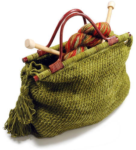 Creative Knitting Free Patterns : Creative ideas for you knitting tote free pattern