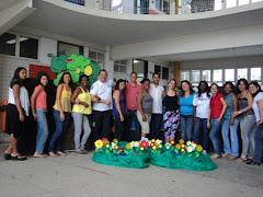 Equipe Maravilhosa na Mostra de Trabalho-2010